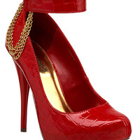 LONNIE PLATFORM PUMP - RED