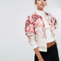 Puma X Careaux Reversible Bomber Jacket at asos.com