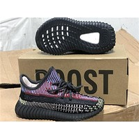 Adidas Yeezy Boost 350 V2 Kid Fashion Casual Girl Boy Sneakers Sport Shoes Size 28-35