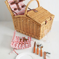 Open Air Enjoyment Picnic Basket | Mod Retro Vintage Decor Accessories | ModCloth.com