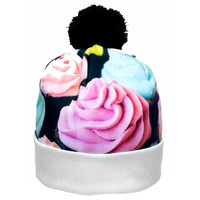 Cupcake Collage Beanie