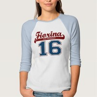 Sporty Fiorina for President '16 T-shirts