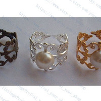 Inspired peeta's pearl ring,silver/golcen/brass,you can choose