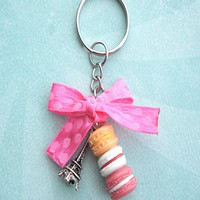 Parisian Themed Keychain