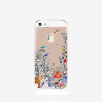Vintage iPhone 6 Case Clear Floral iPhone 6 Case Clear iPhone Case Vintage Floral iPhone Case Clear iPhone 5 Case Clear Samsung S6 Case