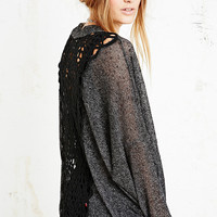 Staring at Stars Cinco Crochet Back Cardigan - Urban Outfitters