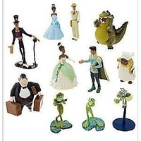 Disney Exclusive Princess Tiana Playset Princess and the Frog Figure Doll Set