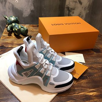 lv louis vuitton womans mens 2020 new fashion casual shoes sneaker sport running shoes 6