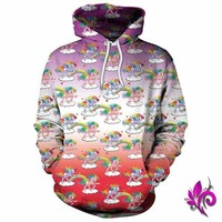 Unicorns N Rainbows Pullover