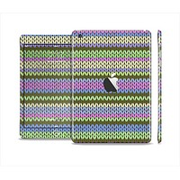 The Colorful Knit Pattern Full Body Skin Set for the Apple iPad Mini 2
