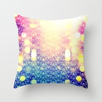 Big City Love Throw Pillow by VessDSign