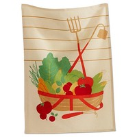 Fresh From the Farm Cotton Dishtowel. TAG Towel Collection.