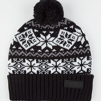 Yea.Nice The Scandic Beanie Black One Size For Men 26480610001
