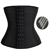 Waist trainer hot shapers modeling strap cincher women slimming sheath body shaper belt fajas bodysuit cinta girdle shapewear