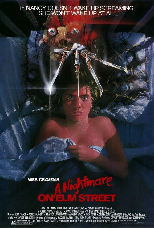 Image of A Nightmare on Elm Street 27x40 Movie Poster (1984)