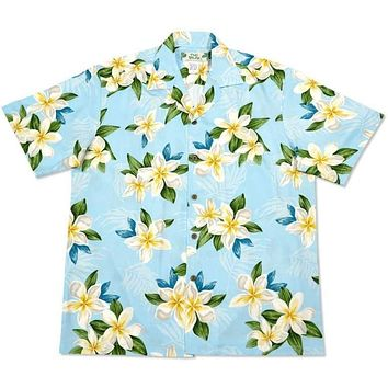 escape hawaiian aloha rayon shirt