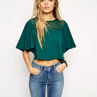 ASOS Vintage Cropped Top