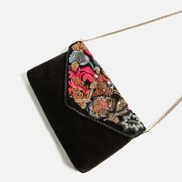 EMBROIDERED CROSSBODY BAG DETAILS