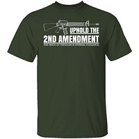 Uphold The Second Amendment T-Shirt