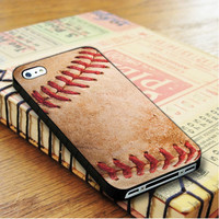 old classic baseball ball skin   For iPhone 4/4S Cases   Free Shipping   AH0615
