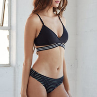Hurley One And Only Luxe Fixed Triangle Bikini Top at PacSun.com