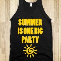 summer is one big party
