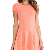Torn by Ronny Kobo Viviene Dress in Coral