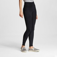 Women's Yoga High Waist Pant Ebony M- Mossimo Supply Co.™ (Juniors') : Target