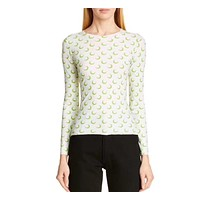 fhotwinter19 new sexy moon pattern slim stretch long sleeve bottoming shirt