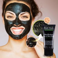 New Blackhead Remover Mask Purifying Black Peel off Charcoal Mask +Free Gift Necklace