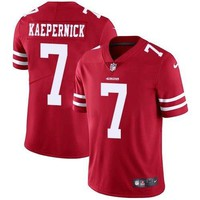 Nike #7 Colin Kaepernick Limited Red Home Youth Jersey NFL San Francisco 49ers