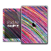 The Bright Color Strokes Skin for the iPad Air