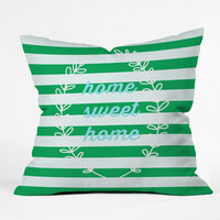 Hello Twiggs Home Sweet Home Outdoor Throw Pillow