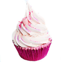 Tinsel Seasonal Cupcake Bath Bomb