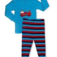 Leveret Baby Boys 2 Piece Pajama Set 100% Cotton (Size 6-24 Months)