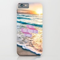 All you need is love iPhone & iPod Case by Ylenia Pizzetti | Society6