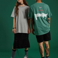 Bullshit Embroidered Bullshittour Tee | Black/Green/Grey