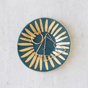 The Object Enthusiast Circle Burst Catch-All Dish - Urban Outfitters