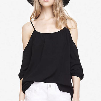 COLD SHOULDER BLOUSE from EXPRESS