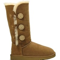 UGG Australia Women's Bailey Button Triplet Winter Boot - Chestnut | Dick's Sporting Goods