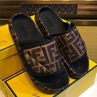 Fendi Fashion Slippers-19