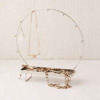 Etched Metal Jewelry Stand