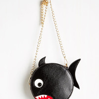Quirky Piranha Your Request Bag by Kling from ModCloth