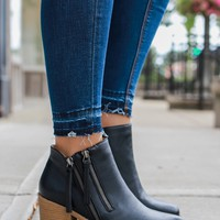 Twice As Nice Booties - Black