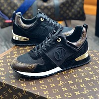 LV RUN AWAY retro sports casual shoes
