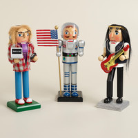 Astronaut, Rock Star and Techie Nutcrackers, Set of 3 - World Market