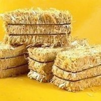 "Miniature 2"" Hay Bales - Great for craft projects -  p/n 101-0802 - 6 Bales"