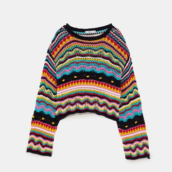 MULTICOLOURED SWEATERDETAILS