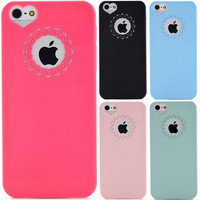 Cute Candy Color Phone Case For iPhone 6 6S 6/6S Plus 4 4S 5 5S SE