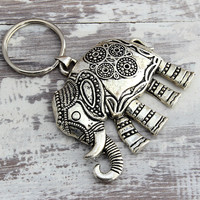 Thank You Gift Lucky Elephant Keychain Gift For Her Birthday Gifts For Teachers Sisters Appreciation Gifts For Friends Coworkers Neigbors
